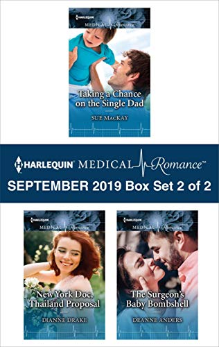 Harlequin Medical Romance September 2019 - Box Set 2 of 2  Sue MacKay, Dianne Drake, Deanne Anders