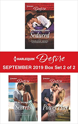 Harlequin Desire September 2019 - Box Set 2 of 2  Charlene Sands, Jules Bennett, Anna DePalo