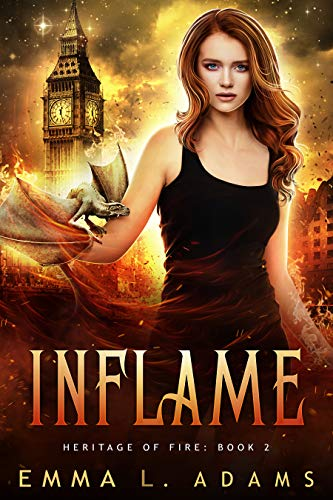 Inflame (Heritage of Fire Book 2)  Emma L. Adams