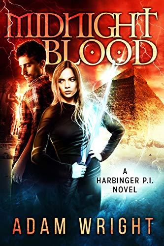 Midnight Blood (Harbinger P.I. Book 6)   Adam J Wright