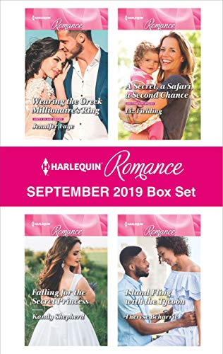 Harlequin Romance September 2019 Box Set Jennifer Faye, Liz Fielding, Kandy Shepherd, Therese Beharrie