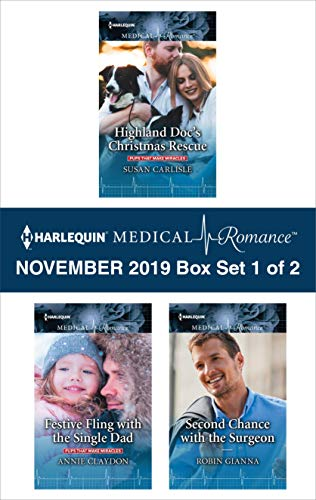 Harlequin Medical Romance November 2019 - Box Set 1 of 2 Susan Carlisle, Annie Claydon, Robin Gianna
