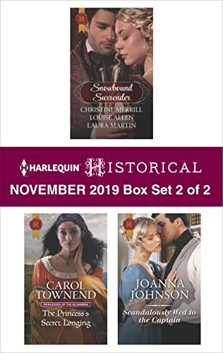 Harlequin Historical November 2019 - Box Set 2 of 2  Carol Townend, Joanna Johnson