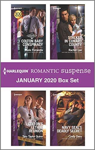 Harlequin Romantic Suspense January 2020 Box  Marie Ferrarella, Tara Taylor Quinn, Rachel Lee