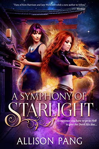 A Symphony of Starlight (Abby Sinclair Book 4) Allison Pang