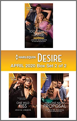 Harlequin Desire April 2020 - Box Set 2 of 2  Janice Maynard, Jessica Lemmon, et al.