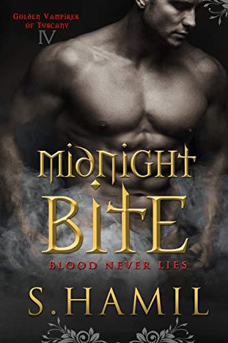 Midnight Bite (Golden Vampires of Tuscany Book 4)  Sharon Hamilton