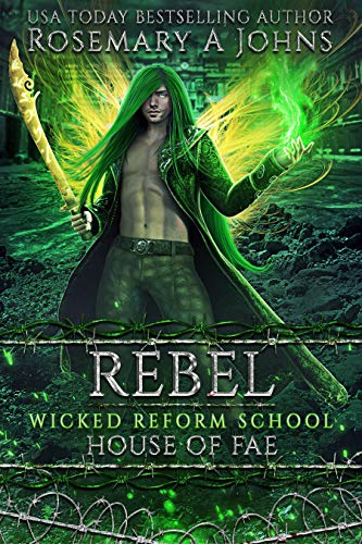 Rebel: House of Fae: A Dark Fae Paranormal Romance  Rosemary A Johns