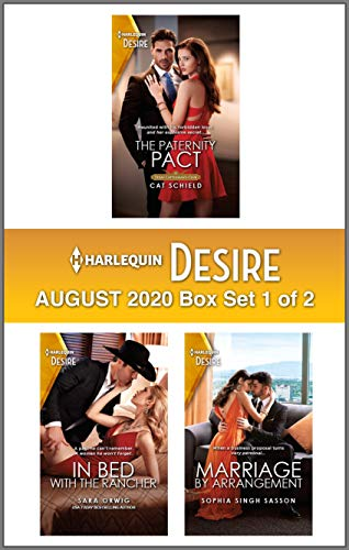 Harlequin Desire August 2020 - Box 1 of 2 Cat Schield , Sara Orwig, et al.