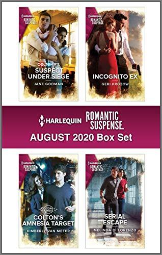 Harlequin Romantic Suspense August 2020 Box Set Jane Godman , Kimberly Van Meter, et al
