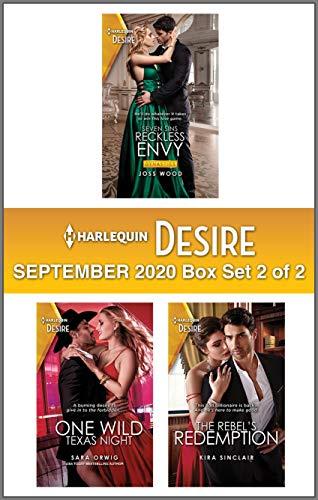 Harlequin Desire September 2020 - Box Set 2 of 2 Joss Wood, Sara Orwig, et al