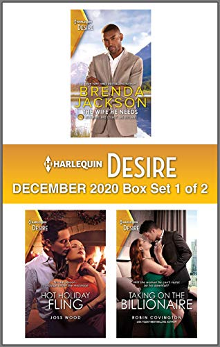 Harlequin Desire December 2020 - Box Set 1 of 2 Brenda Jackson, Joss Wood , et al.