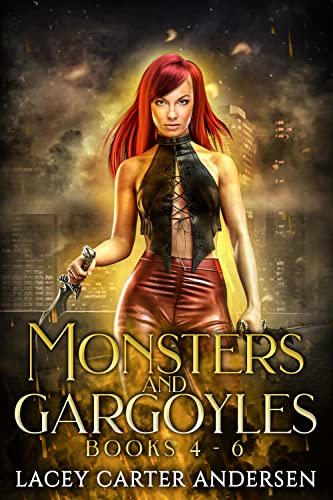 Monsters and Gargoyles: (Books 4-6): A Paranormal Reverse Harem Romance (Monsters and Gargoyles Box Set Book 2 Lacey Carter Andersen