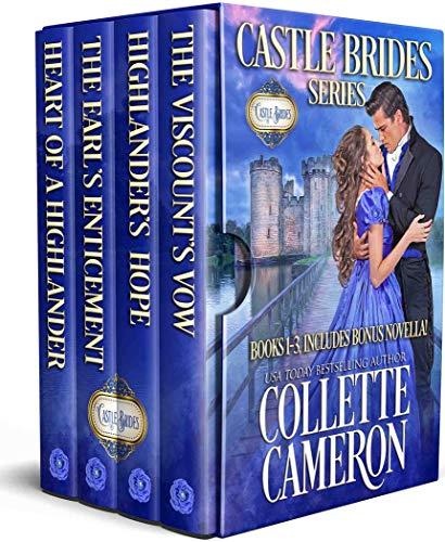 Castle Brides Boxed Set: Books 1-3 Collette Cameron