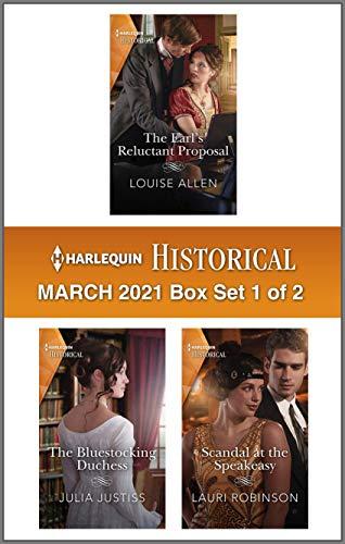 Harlequin Historical March 2021 - Box Set 1 of 2 Louise Allen, Julia Justiss, et al.