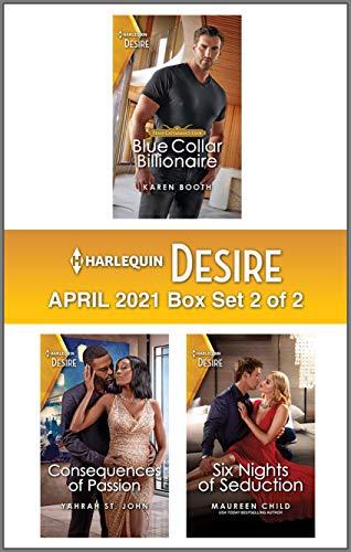 Harlequin Desire April 2021 - Box Set 2 of 2 Karen Booth , Yahrah St. John, et al.