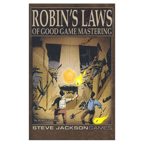 Robin's Laws to Good Game Mastering