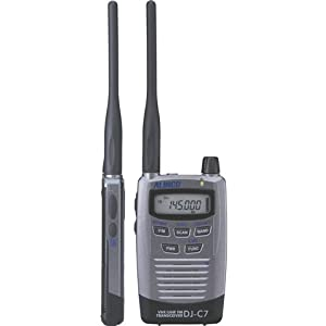 ALINCO アマチュア無線機 144/430MHz ハンディタイプ DJ-C7