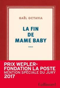 """Résultat de recherche d'images pour """"GAËL OCTAVIA, «La fin de Mame Baby»"""""""