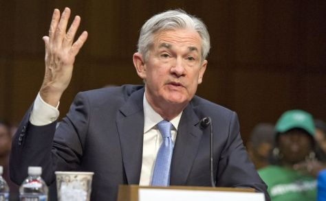 U.S. Federal Reserve Chairman Jerome Powell hit pause on future interest rate hikes