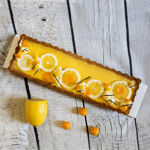lemon Curd Flan