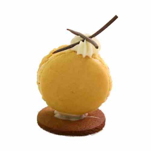 Passion Fruit 3D Macaroons