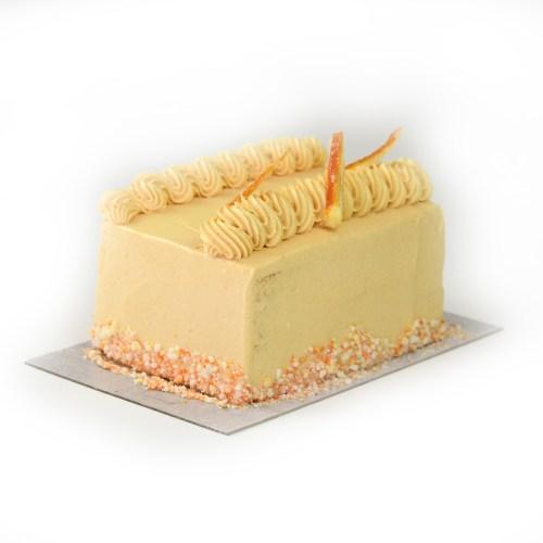 Lemon Buttercream Bar Cake
