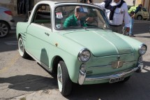 Fiat Bianchina completly renovated in original style by its owner