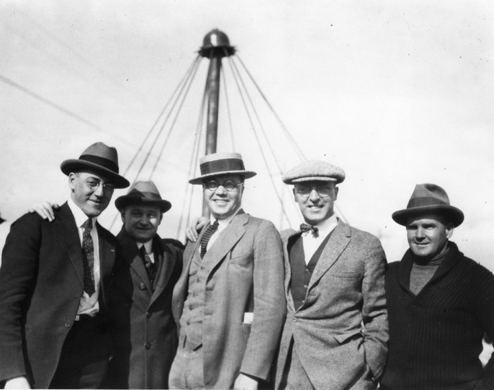 Members of the Gyro at official opening Tipton Park, EA-211-1, City of Edmonton Archives