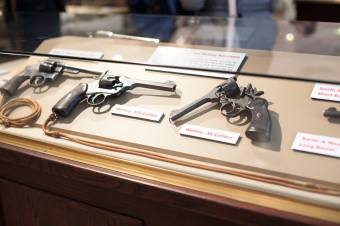 Gun display, Loyal Edmonton Regiment Military Museum