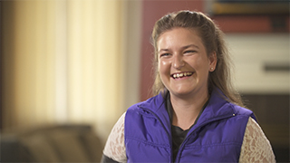 Oregon State University crop and soil science instructor Alyssa DuVal