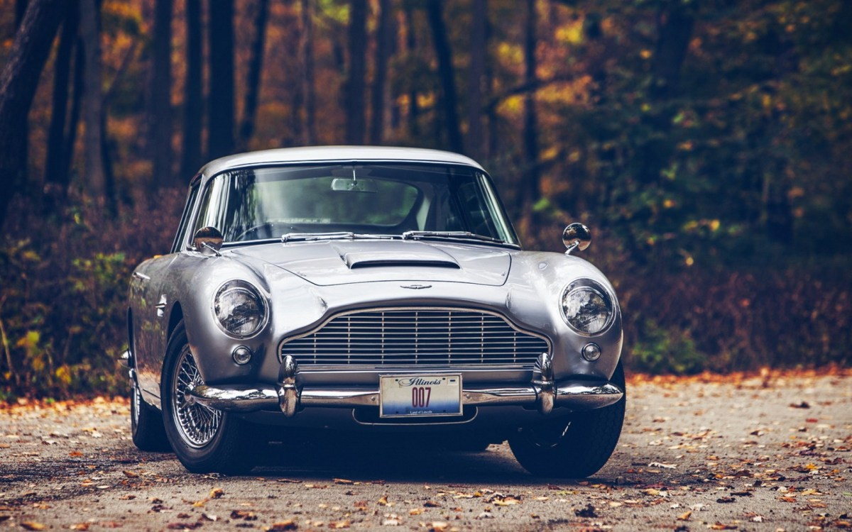 Aston Martin DB5 - As breathtaking as always