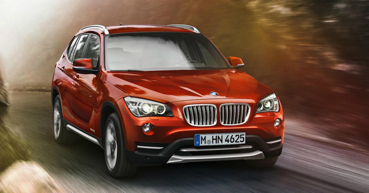 2015 BMW X1 Red