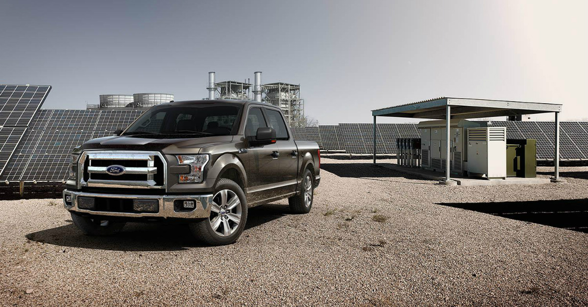 2015 Ford F-150 Gray