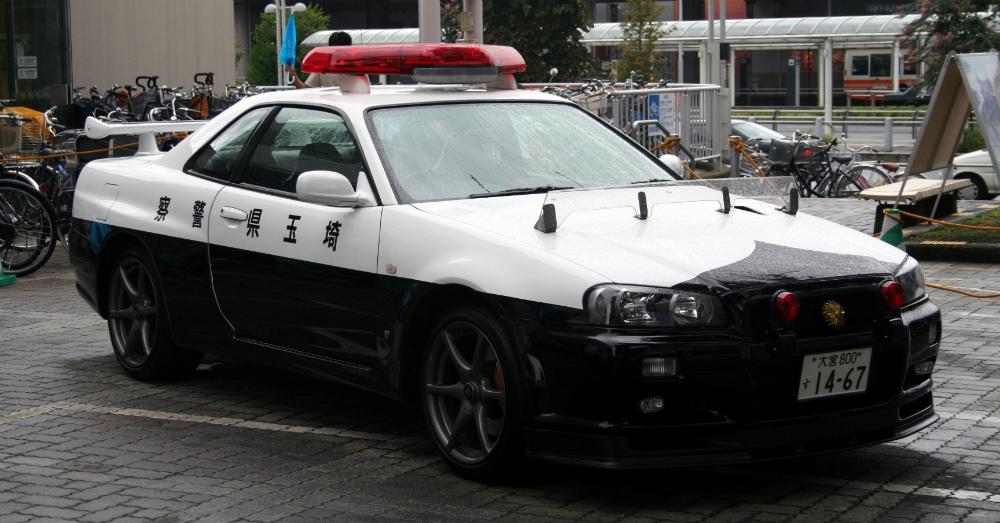 12.19.16 - Nissan R34 Skyline GT-R Police Cruiser