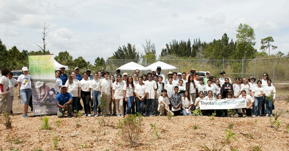 The Toyota Commitment to the Environment