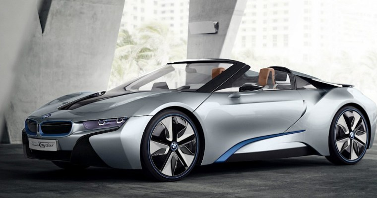 It's Coming and Its Beautiful; The BMW i8 Roadster