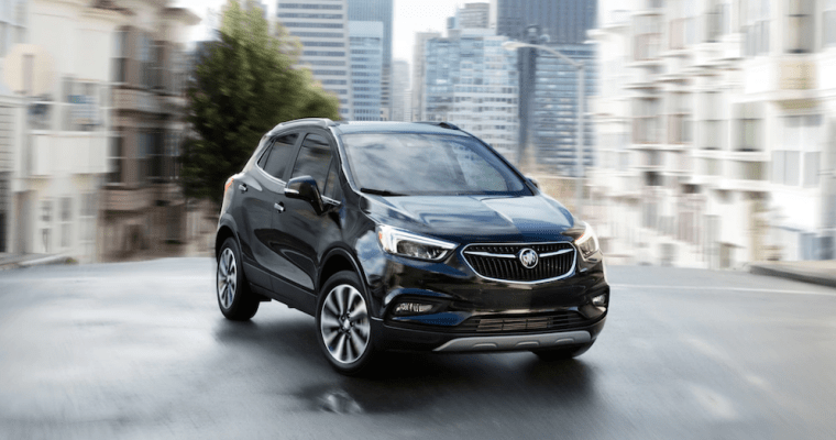 Upscale Features and Impressive Style from a Compact Buick Crossover