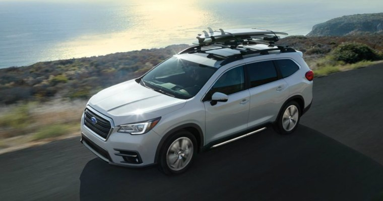 Subaru Ascent Concept Becomes a Production Model