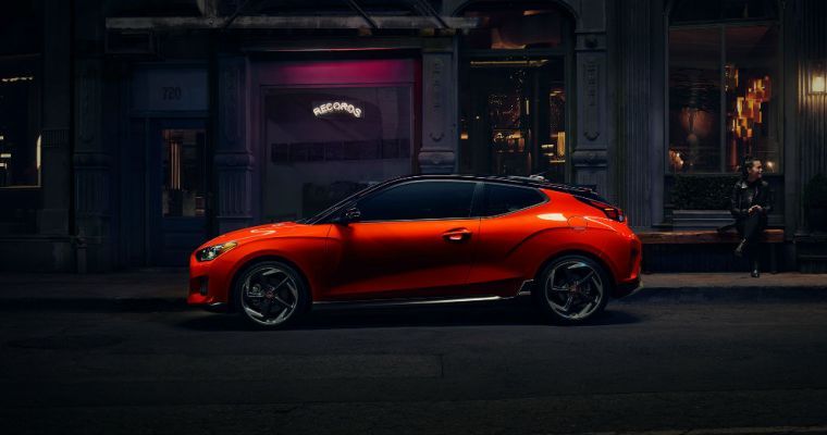 More N Sport for the Drive in the Hyundai Veloster