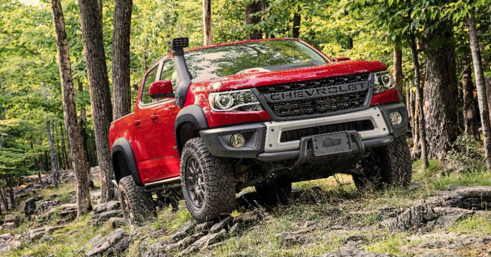 Bison Sits Atop the Chevrolet Colorado Lineup