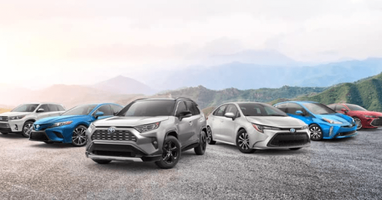 Toyota has a Vehicle for Every Customer
