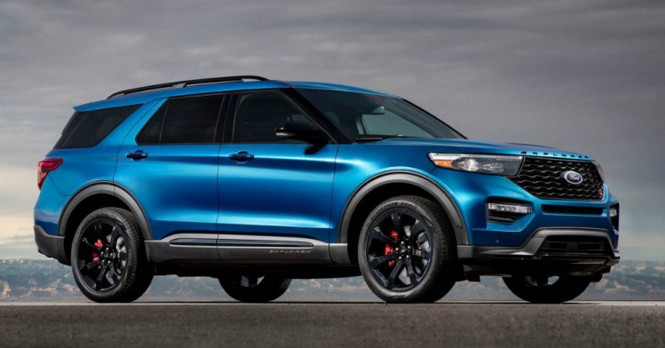 2020 Ford Explorer Leads the Pack of SUVs