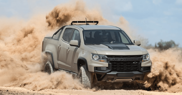 The Chevrolet Colorado ZR2 is Off-Road Truck for You