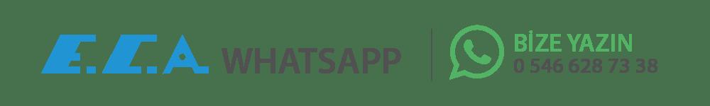 eca servis whatsapp hattı