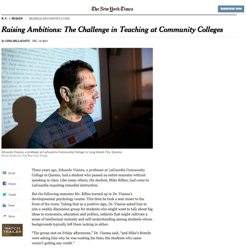 IBOC EDUCATIONAL Director on NY Times