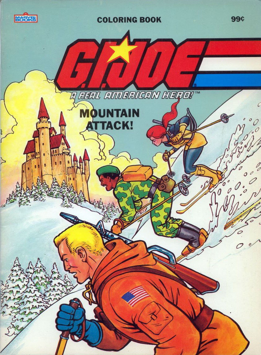 mountain attack