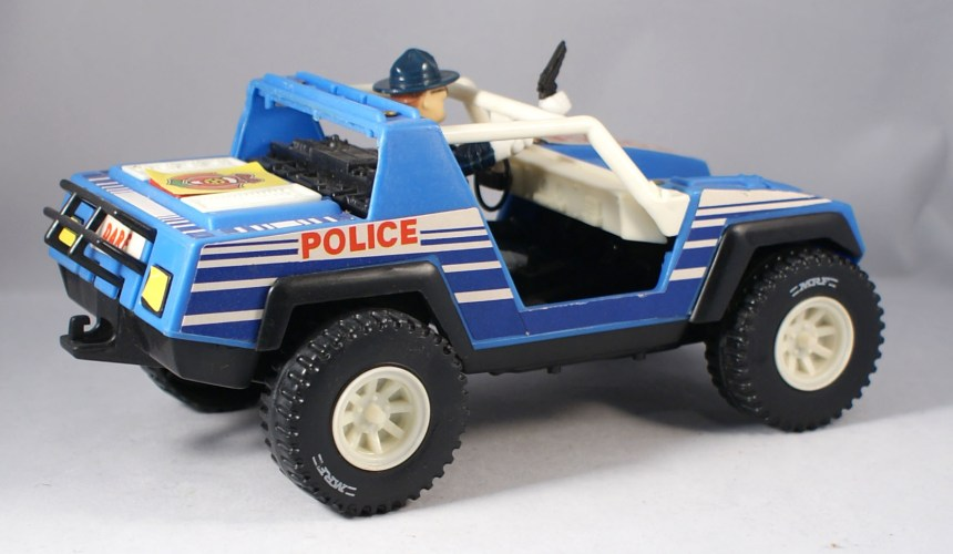 Super Cop Rescue Squad Jeep