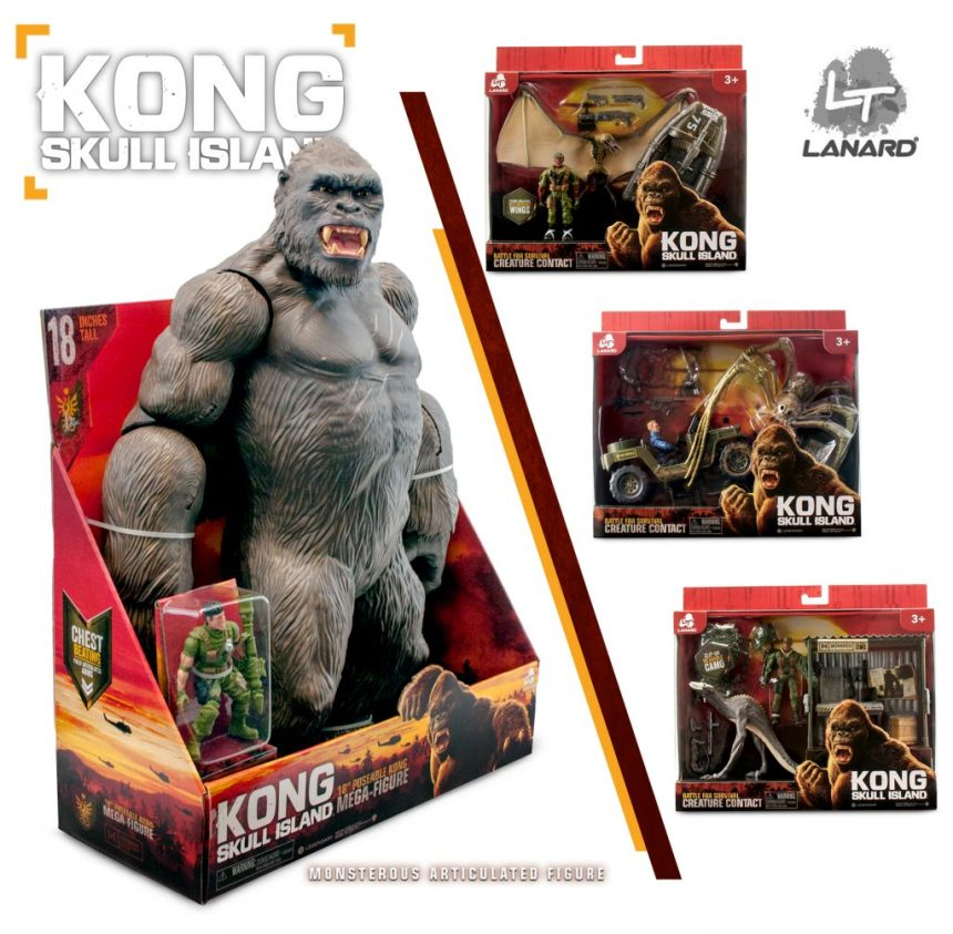kong monsters