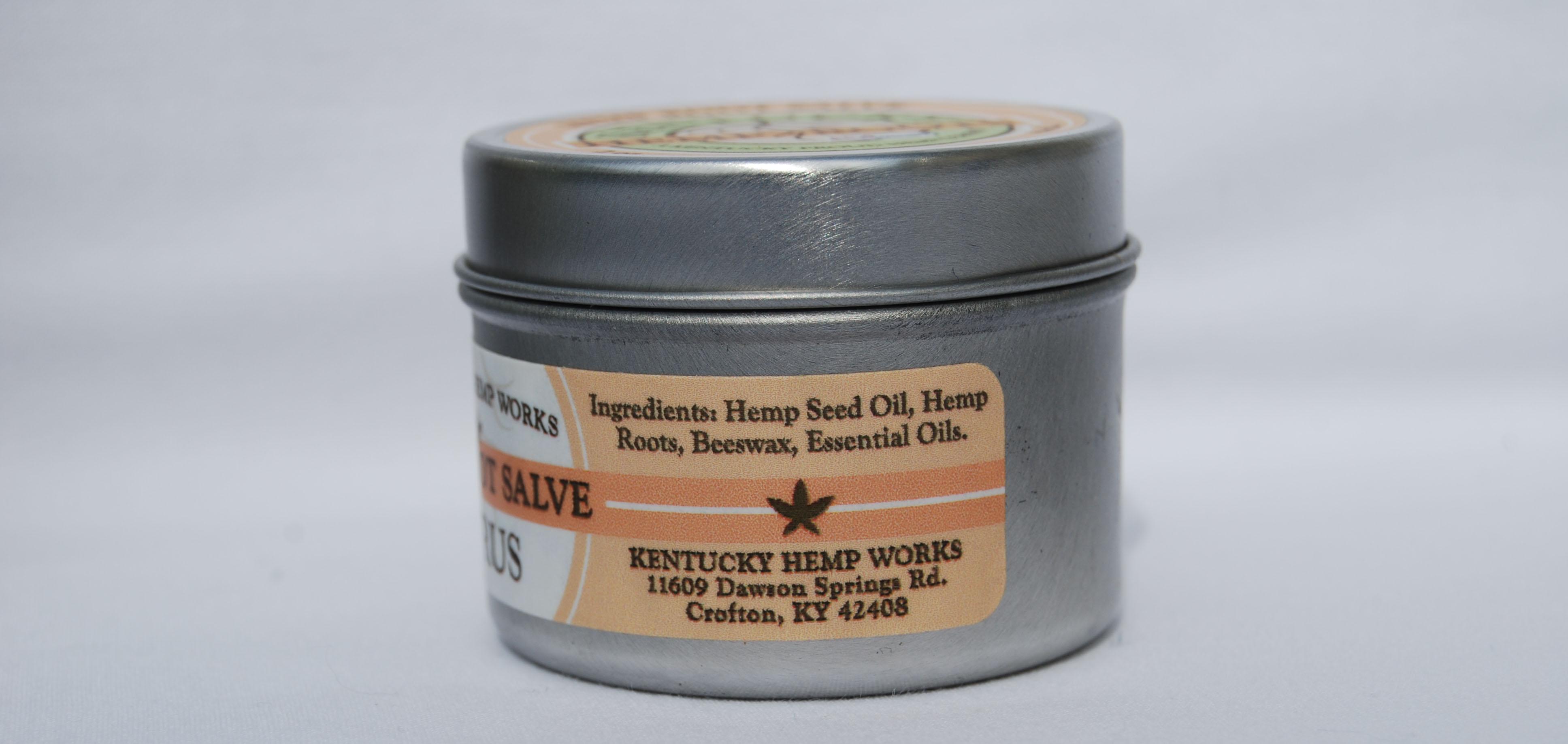 Kentucky Hemp Works - Hemp Root Citrus Salve